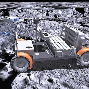 月球车模型