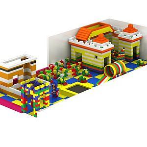 积木儿童益智玩具模型