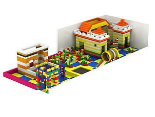 积木儿童益智玩具模型3d模型