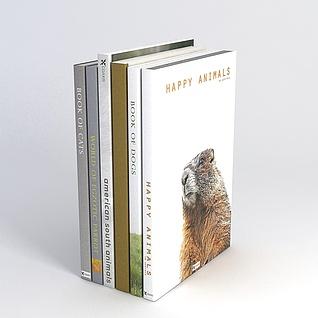 外文书籍3d模型