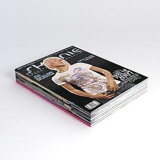 杂志3d模型