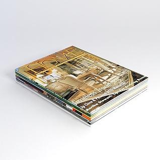 杂志书籍3d模型