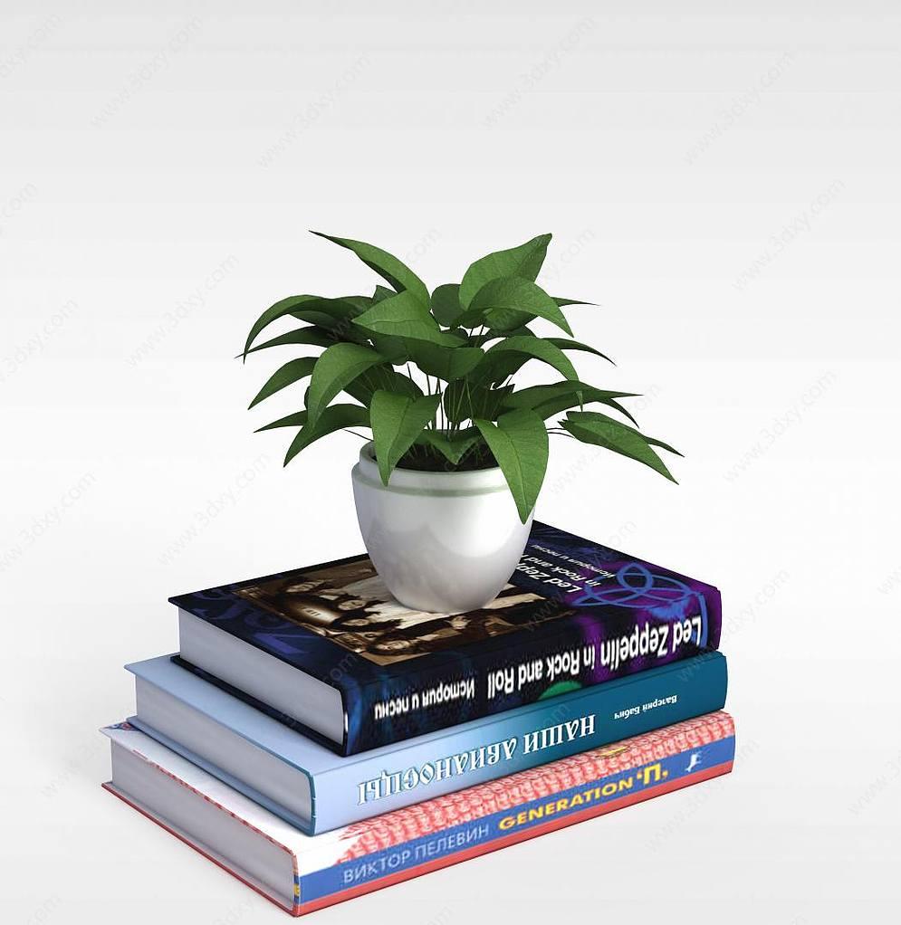 书籍和植物