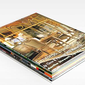 雜志書籍模型