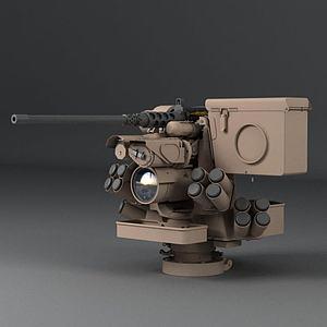 真实3D机枪模型
