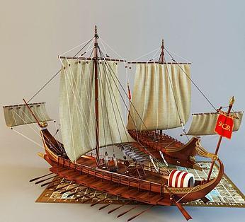 罗马战斗船