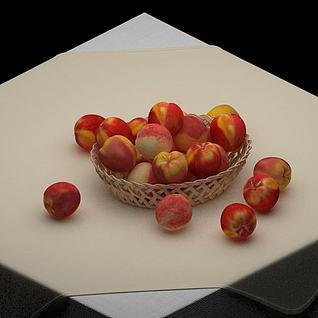 水蜜桃3d模型