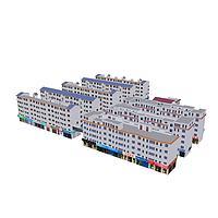 城市建筑3d模型
