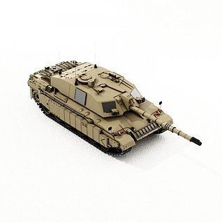 坦克3d模型