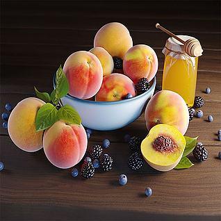 水果3d模型