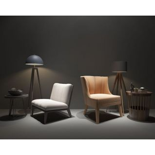 北欧单人沙发3d模型