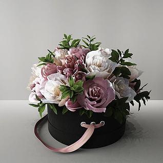 盆花3d模型