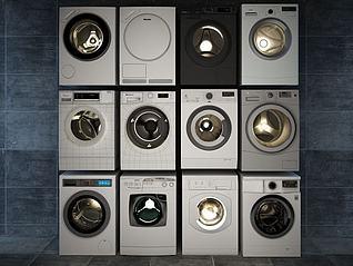 洗衣机3d模型