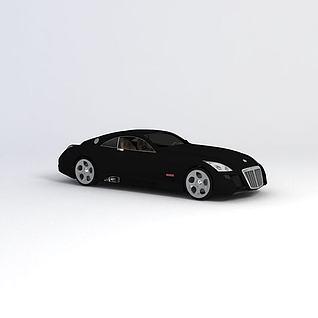 迈巴赫exelero汽车3d模型
