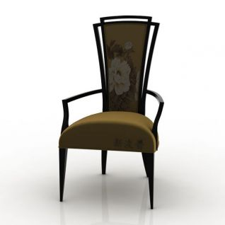 单人椅3d模型
