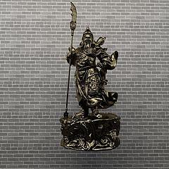 关公铜像模型3d模型