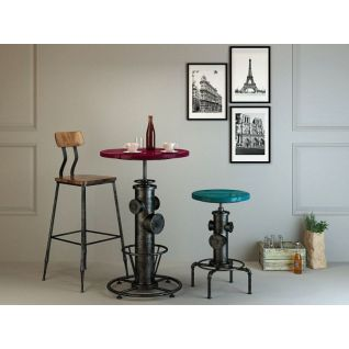 工业风桌椅3d模型