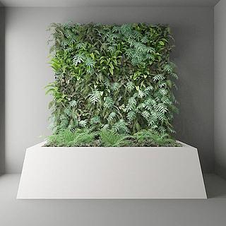 <font class='myIsRed'>植物</font>墙3d模型