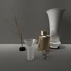 现代装饰品3D模型3d模型