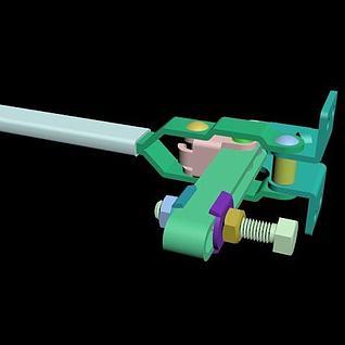 夹钳装置3d模型
