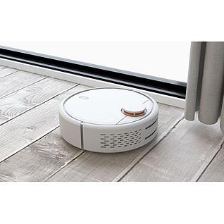 小米扫地机器人3d模型