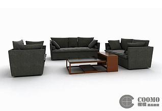 COSO沙发组合3d模型