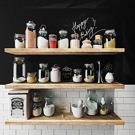 厨房调料模型