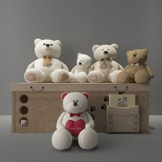 玩偶熊3d模型