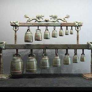 青铜编钟模型