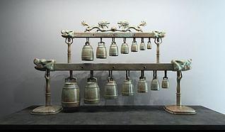 青铜编钟模型3d模型