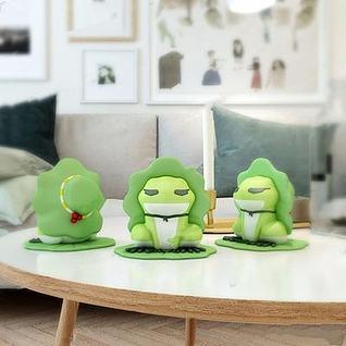 旅行青蛙模型3d模型