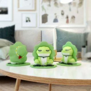 旅行青蛙3d模型
