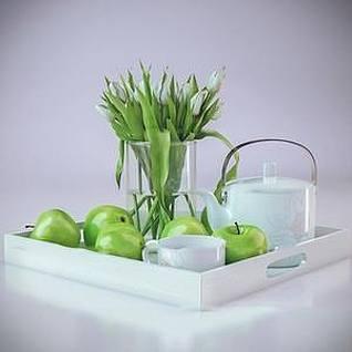 青苹果3d模型
