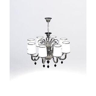 时尚吊灯3d模型