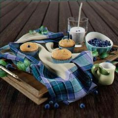 蓝莓蛋糕模型3d模型