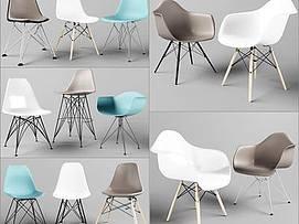 北欧椅子模型
