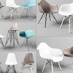 3d北欧椅子模型