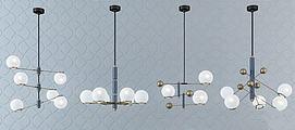 金属吊灯3D模型