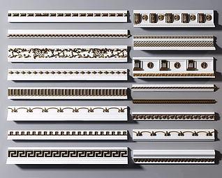 装饰线条模型3d模型