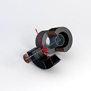 电器测量机构3d模型