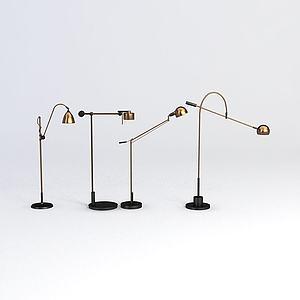 办公台灯模型