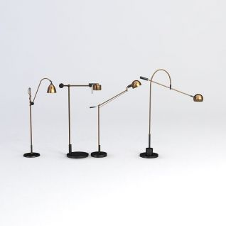 办公台灯3d模型