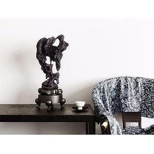 室内饰品摆件3d模型