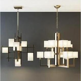 客厅吊灯3d模型