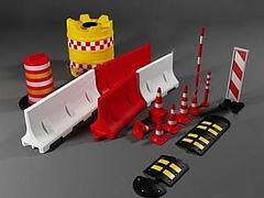 各种路障模型3d模型