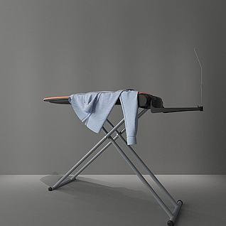 熨衣架3d模型