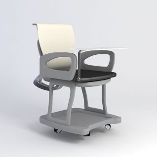 培训椅3d模型