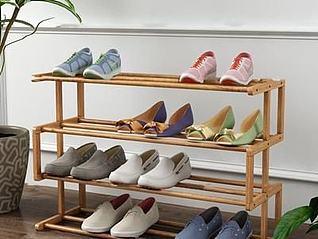 鞋架模型3d模型