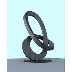 景观雕塑3D模型3d模型