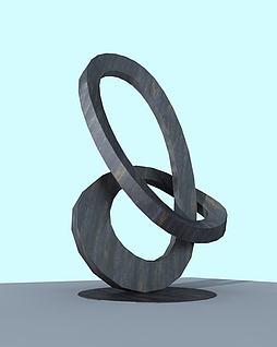 景观雕塑3d模型
